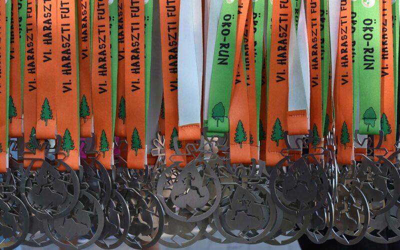 A futóverseny érmei. fotó: olvasói kép