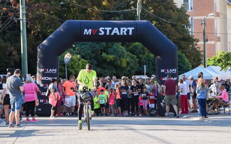 A verseny indítása. fotó: olvasói kép